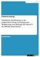 Schriftliche Ausarbeitung zu der praktischen Übung 'Gestaltung und Realisierung eines Beitrags fürs MesseTV im Offenen Kanal Kassel'