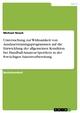 Untersuchung zur Wirksamkeit von Ausdauertrainingsprogrammen auf die Entwicklung der allgemeinen Kondition bei Handball-Amateur-Sportlern in der 8-wöchigen Saisonvorbereitung