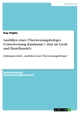 Ausfüllen eines Überweisungsbeleges (Unterweisung Kaufmann / -frau im Groß- und Einzelhandel)