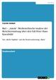 Biel - 'Amok': Medienethische Analyse der Berichterstattung über den Fall Peter Hans Kneubühl