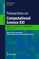 Transactions on Computational Science XXI