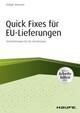 Quick fixes für EU-Lieferungen