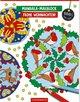 Mandala-Malblock - Frohe Weihnachten!