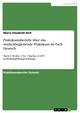Praktikumsbericht über das studienbegleitende Praktikum im Fach Deutsch