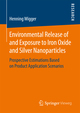 Environmental Release of and Exposure to Iron Oxide and Silver Nanoparticles