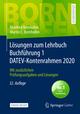 Lösungen zum Lehrbuch Buchführung 1 DATEV-Kontenrahmen 2020