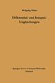 Differential- und Integral-Ungleichungen