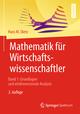 Mathematik für Wirtschaftswissenschaftler 1