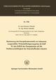 Bestimmung des Energiekostenanteils am Listenpreis ausgewählter Walzstahlfertigerzeugnisse als Maß für den Einfluß der Energiepreise auf die Wettbewerbsfähigkeit der Eisenschaffenden Industrie
