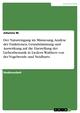 Der Natureingang im Minnesang. Analyse derFunktionen, Grundstimmung und Auswirkung auf die Darstellung der Liebesthematik in Liedern Walthers von der Vogelweide und Neidharts