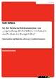 Ist der deutsche Allokationsplan zur Ausgestaltung des CO2-Emissionshandels das Produkt der Energielobby?