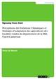 Perceptions des Variations Climatiques et Stratégies d'adaptation des agriculteurs des localités rurales du département de la Mifi, Ouest-Cameroun