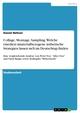 Collage, Montage, Sampling. Welche (medien-)materialbezogene ästhetische Strategien lassen sich im Deutschrap finden