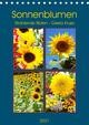 Sonnenblumen - Strahlende Blüten (Tischkalender 2021 DIN A5 hoch)