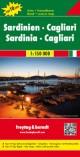 Sardinien - Cagliari, Autokarte 1:150.000, Top 10 Tips