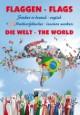 Flaggen Aufkleber - Die Welt/Flags - The world