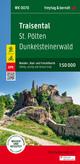 Traisental - St. Pölten - Dunkelsteinerwald, Wander + Radkarte 1:50.000