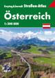Österreich, Straßen-Atlas 1:200.000