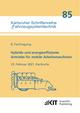 Hybride und energieeffiziente Antriebe für mobile Arbeitsmaschinen : 8. Fachtagung, 23. Februar 2021, Karlsruhe