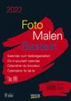 Foto-Malen-Basteln Bastelkalender A4 schwarz 2022