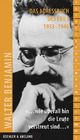 Walter Benjamin: '...wie überall hin die Leute verstreut sind...'