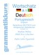 Wörterbuch Deutsch - Portugiesisch - Englisch A1