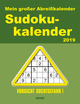 Sudokukalender für jeden Tag 2019