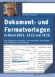 Dokument- und Formatvorlagen in Word 2016,2013 und 2010