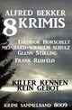 8 Krimis: Killer kennen kein Gebot: Krimi Sammelband 8009
