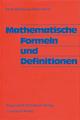 Mathematische Formeln und Definitionen