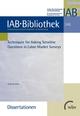 Techniques for Asking Sensitive Questions in Labour Market Surveys