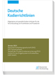 Deutsche Kodierrichtlinien 2021