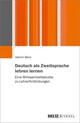 Deutsch als Zweitsprache lehren lernen
