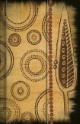 Premium Notes Small 'AfricanArt - Blatt & Kreise'