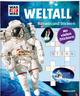 Rätseln und Stickern: Weltall