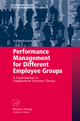 Performance Management for Different Employee Groups