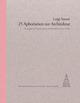 Luigi Snozzi - 25 Aphorismen zur Architektur