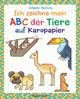 Ich zeichne mein ABC der Tiere auf Karopapier. Einfach zeichnen und Buchstaben lernen. Eine ungewöhnliche Zeichenschule mit Erfolgserlebnis-Garantie! Für Kinder ab 5 Jahren