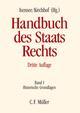 Handbuch des Staatsrechts der Bundesrepublik Deutschland I