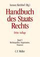 Handbuch des Staatsrechts V