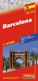Barcelona Stadtplan 1:15 000