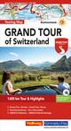 Grand Tour of Switzerland Touring Map Strassenkarte 1:275 000