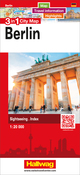 Berlin 3 in 1 City Map, 1:20 000
