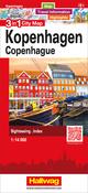 Kopenhagen 3 in 1 City Map, 1:14 000