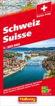 Schweiz 2021 Strassenkarte 1:303 000