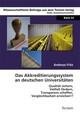 Das Akkreditierungssystem an deutschen Universitäten