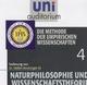 Naturphilosophie und Wissenschaftstheorie 4