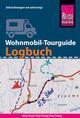 Wohnmobil-Tourguide Logbuch: Reisetagebuch für Aufzeichnungen von unterwegs