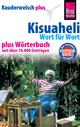 Reise Know-How Sprachführer Kisuaheli - Wort für Wort plus Wörterbuch (Für Tansania, Kenia und Uganda): Kauderwelsch-Band 10+