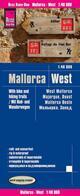 Rad- und Wanderkarte Mallorca West